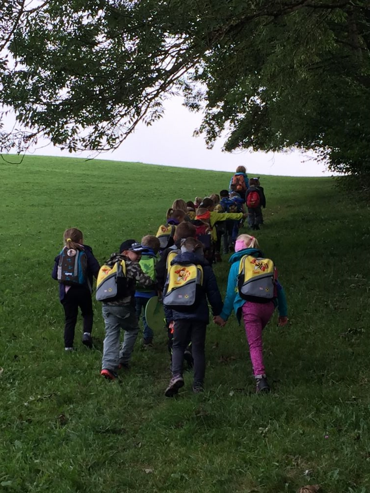 Wandertag - Volksschule Goldegg